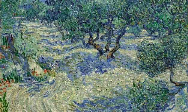 Hallan saltamontes incrustado en una pintura de Van Gogh