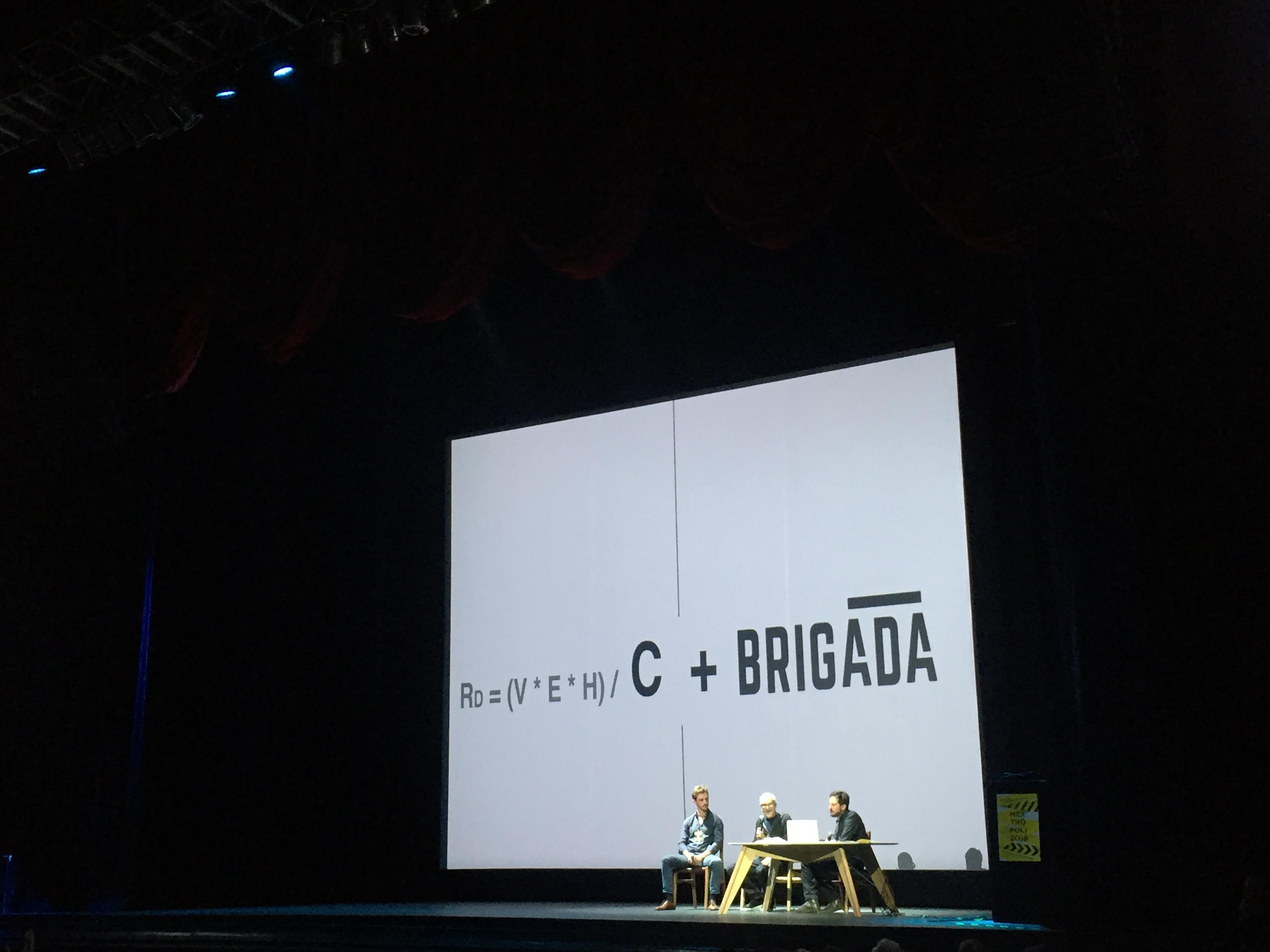 Brigada, plataforma de organización post 19S
