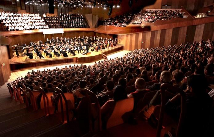 León Spierer y Nadine Sierra en los 40 años de la Orquesta Sinfónica de Minería