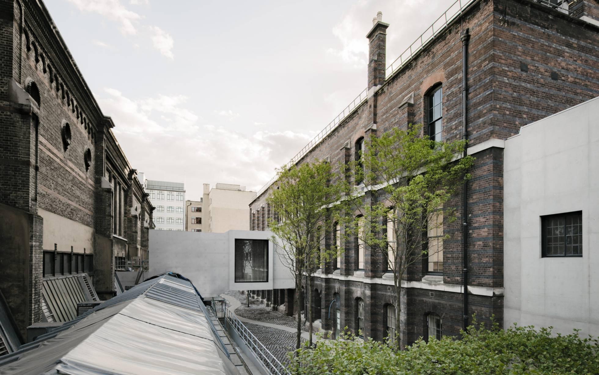Chipperfield concluye ampliación de la Royal Academy de Londres