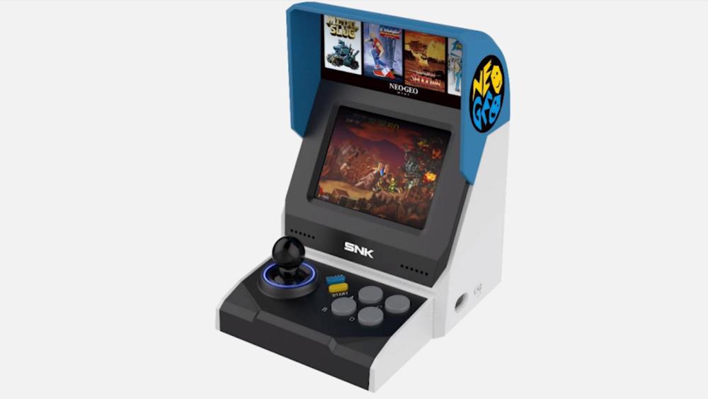 NeoGeo Mini, una miniconsola para fanáticos de las legendarias 'maquinitas'