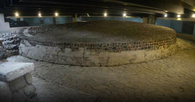 Ehécatl, ventana arqueológica