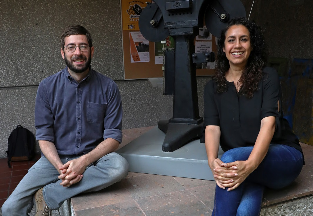 Abril Alzaga y Michel Lipkes, al frente del FICUNAM