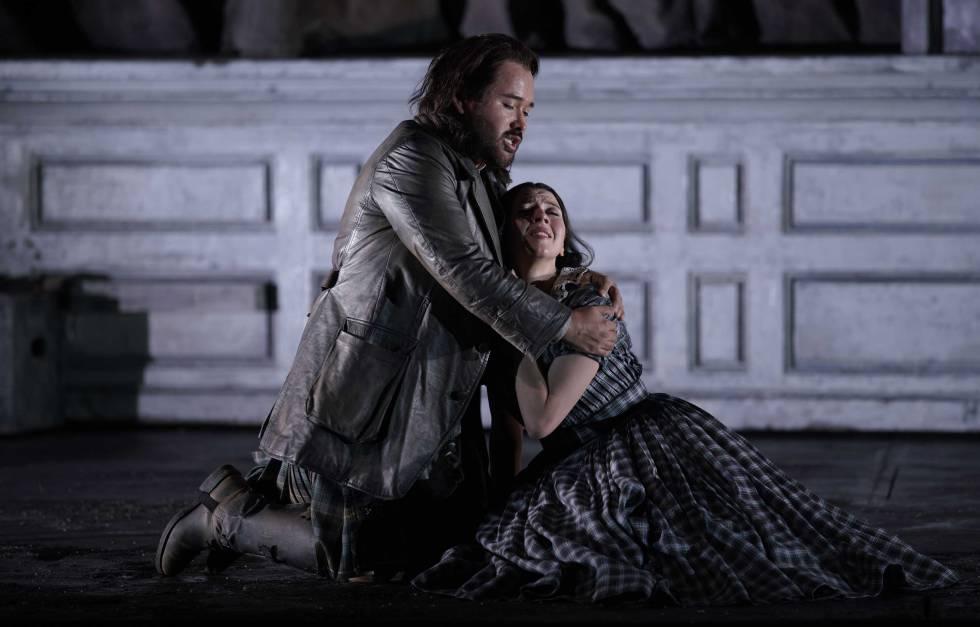 El tenor mexicano, Javier Camarena, en el Teatro Real