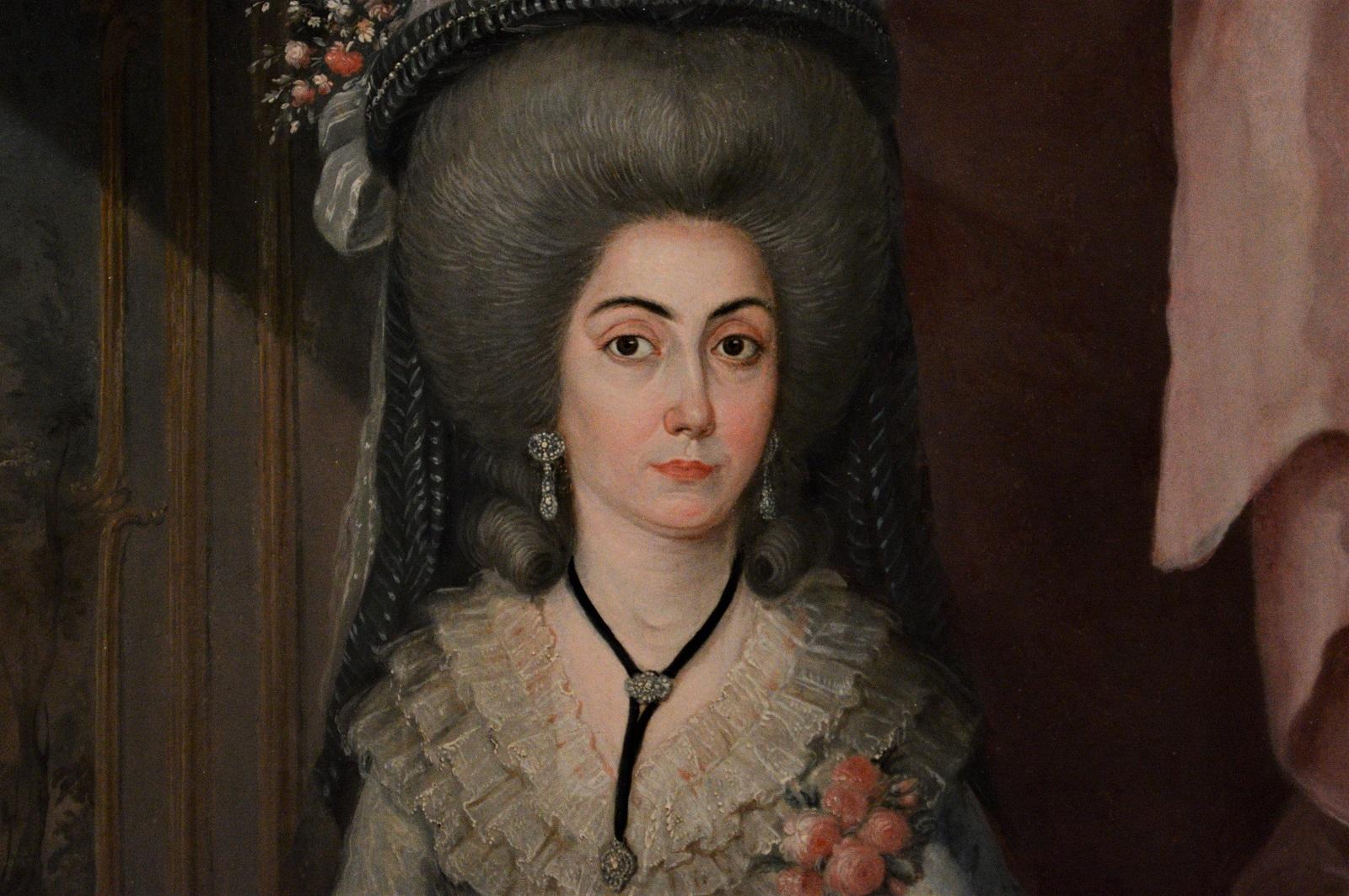 Doña María Catalina de Urrutia - José Campeche Jordán Foto Ireli Vázquez