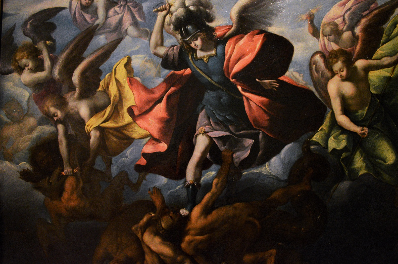 La caída de los ángeles rebeldes- Sebastían López de Arteaga Foto Ireli Vázquez