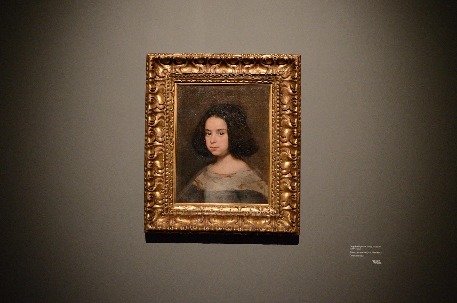 Retrato de una niña - Diego Rodríguez de Silva y Velázquez Foto Ireli Vázquez