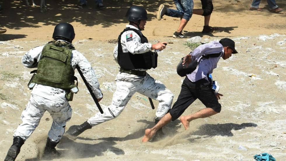 Resultado de imagen para Guardia Nacional Migrantes